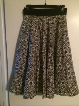 1st DIY Circle Skirt
